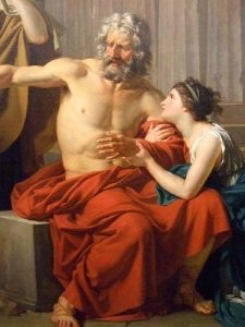 Death of Oedipus