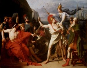 Conflict between Achilles and Agamemnon