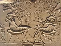 Akhenaten with his children