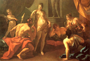 Heracles and Omphale