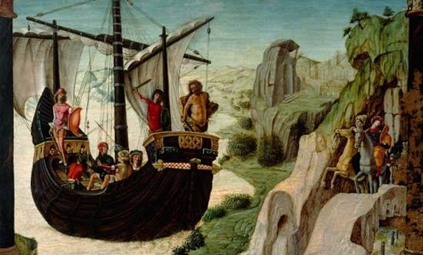 The myth of Jason and the argonauts starts with the boat The Argo