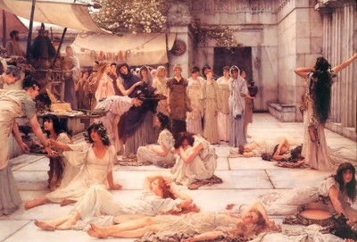 The Women in the bacchae