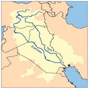 Tigris and Euphrates River