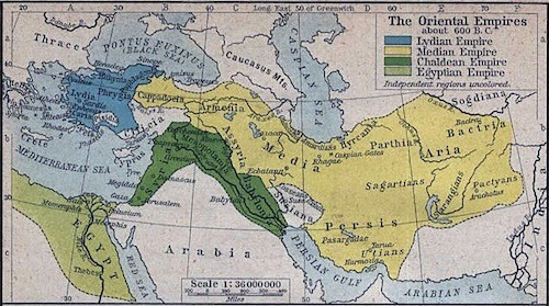 Divide of previous empires before Cyrus