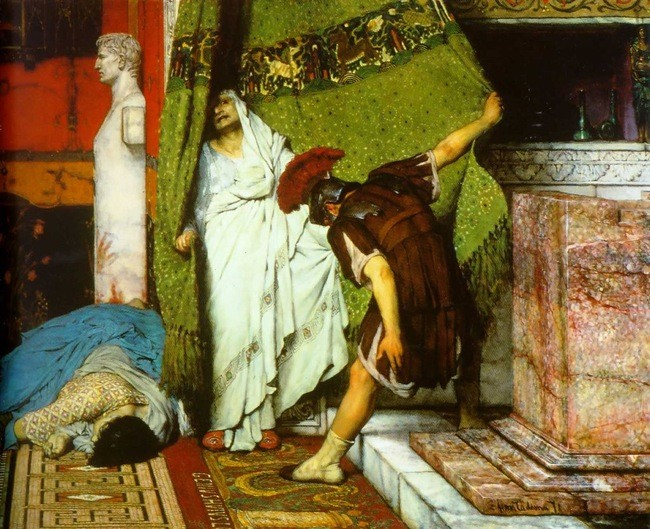 Claudius painting