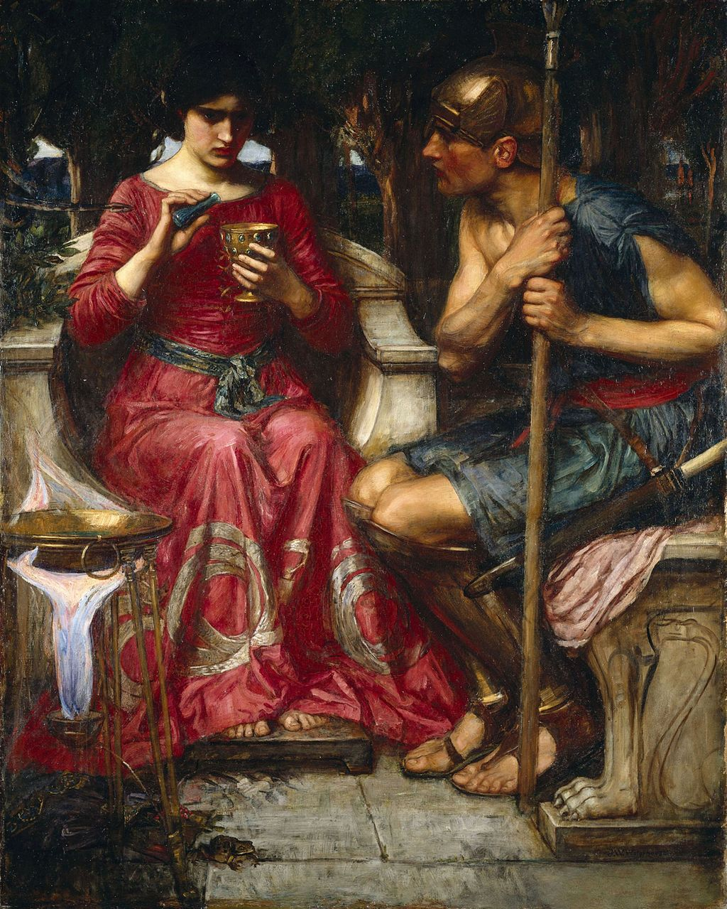 painting of Jason and Medea