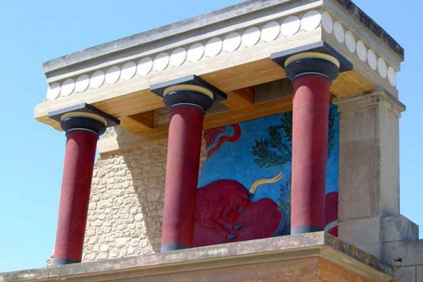 Palace of Knossos reconstruction