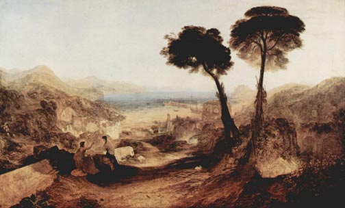 Painting of Baiae by Turner
