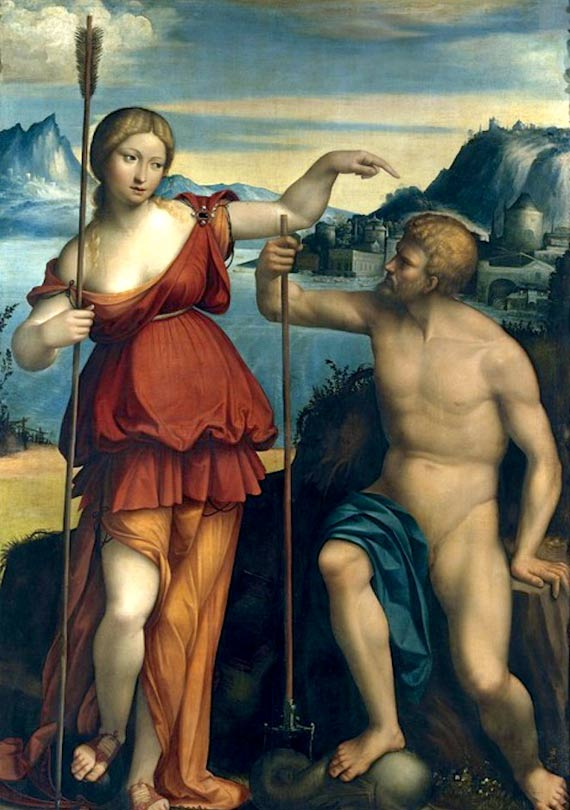 Poseidon and Athena
