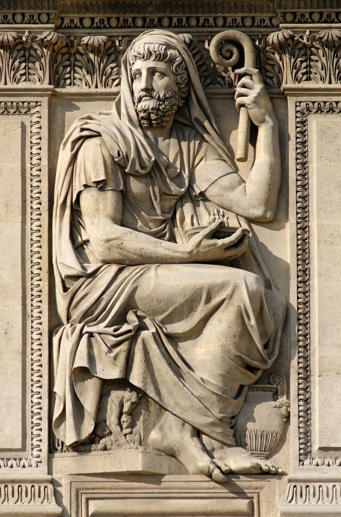 Sculpture of Herodotus