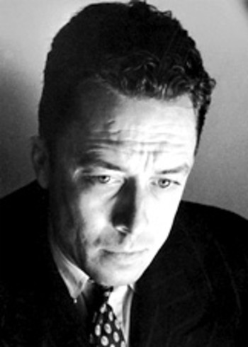 Photo of the philosopher Camus