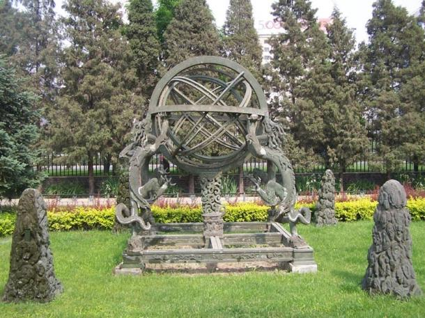 Armillary Sphere in Asia