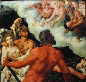 Painting of Helios the Greek God