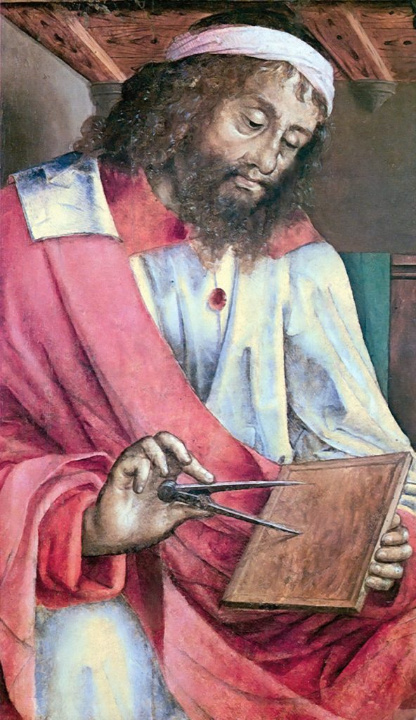 Portrait of the Mathematician Euclid