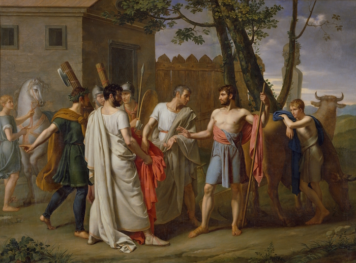 Painting of Cincinnatus