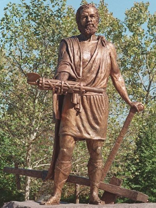 Sculpture of Cincinnatus in Ohio