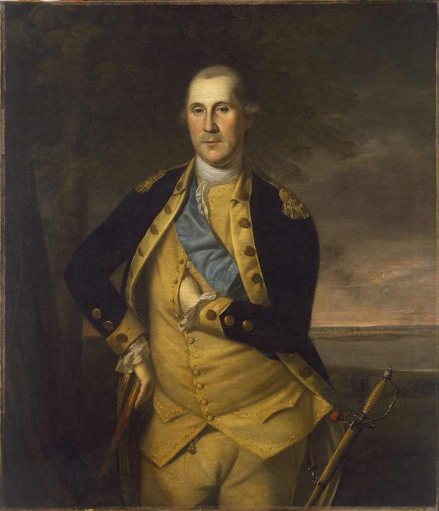 Painting of Washington as Commander of the Army