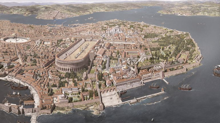 Illustration of Constantinople