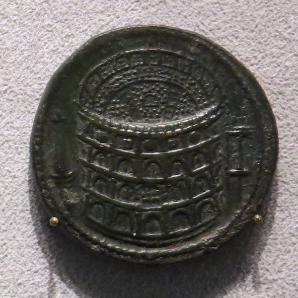 Coin commemorating the inauguration