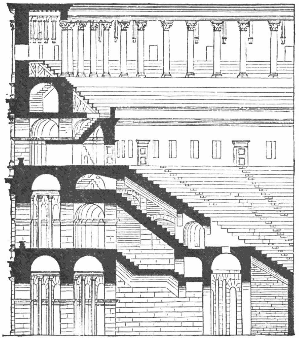 Illustration of the Colosseum