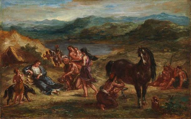 Painting of the Scythians