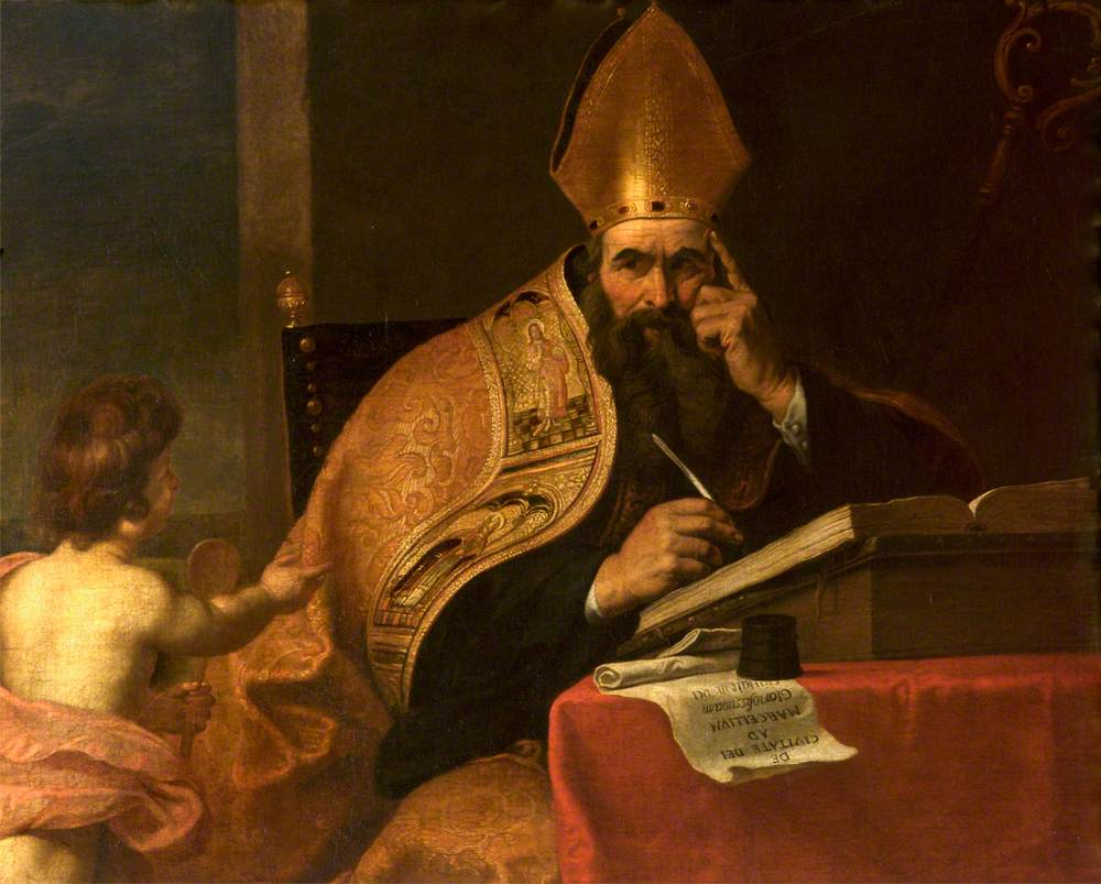 Painting of Augustine
