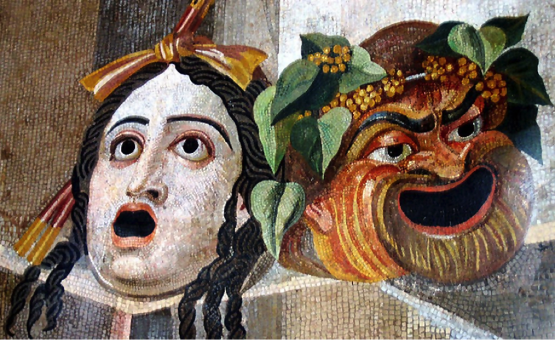 Examples of theatrical masks