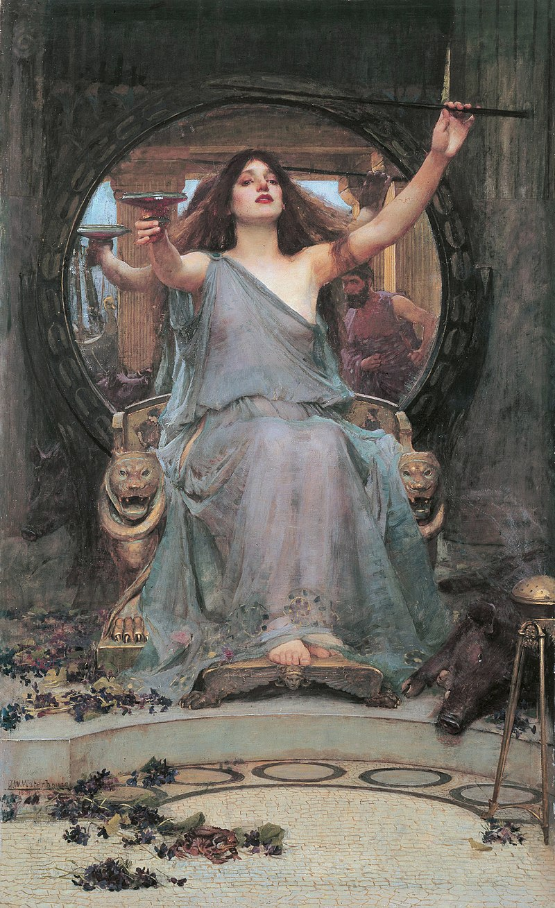 Circe, Waterhouse painting