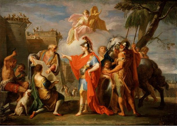 The founding of Alexandria