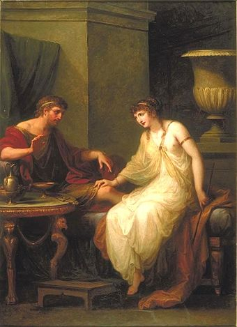 Kauffman's painting of circe