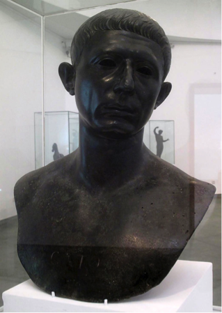 A bust of Cato the Younger