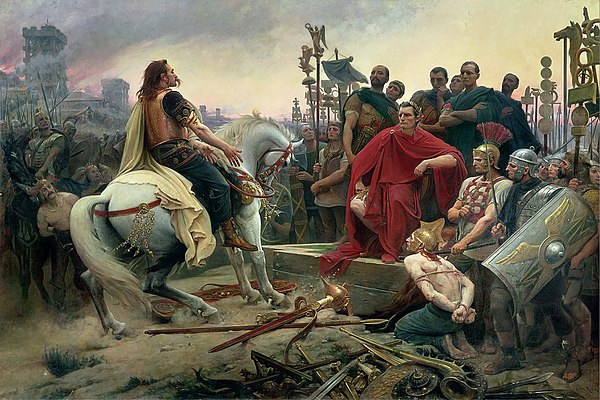 Caesar receiving the surrender of the Celts