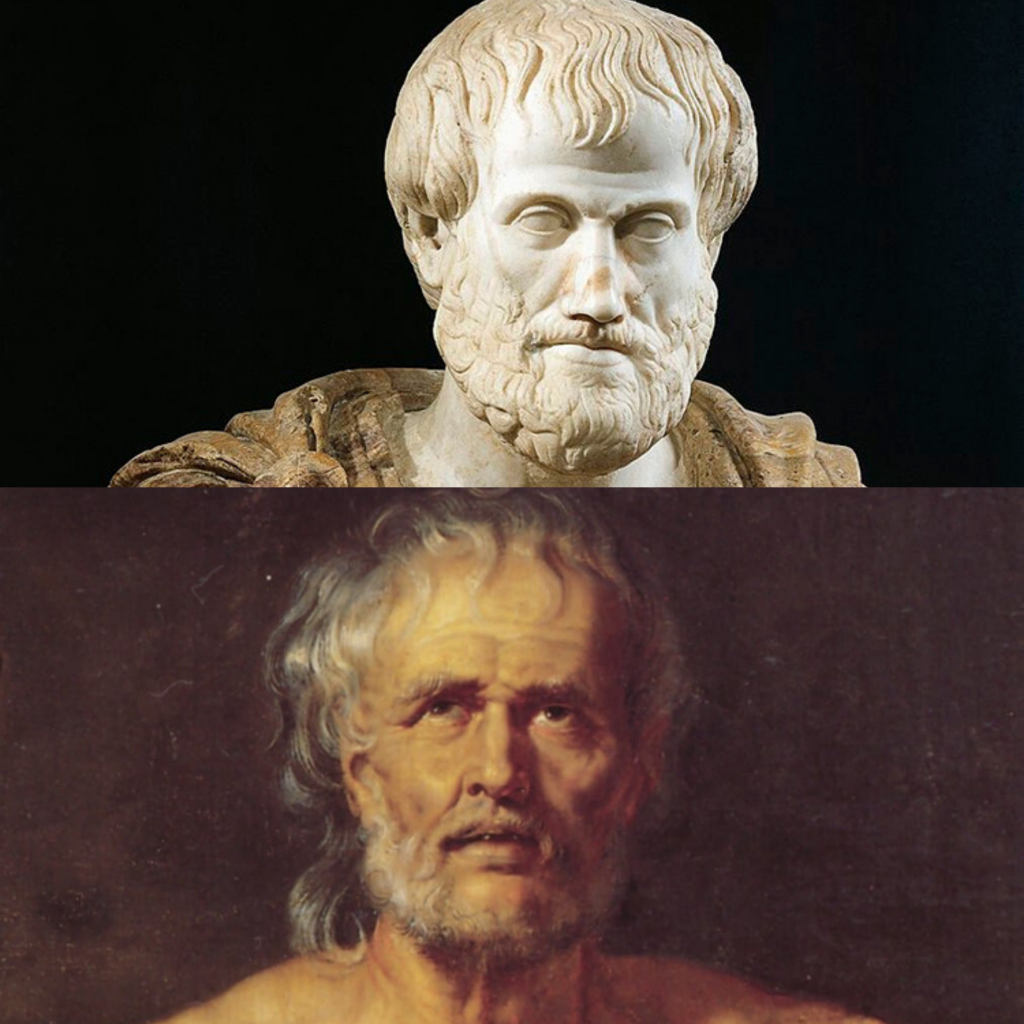 Aristotle and Seneca