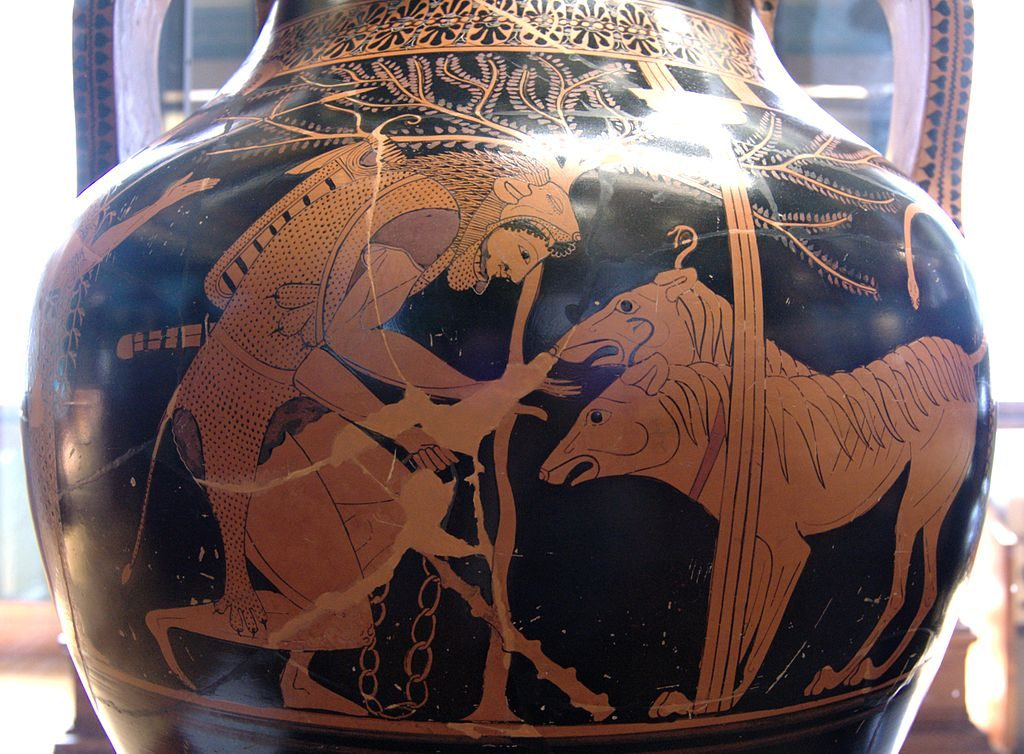 Heracles and Cerberus