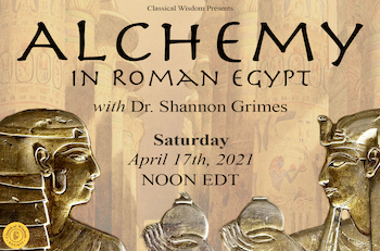 Alchemy in Roman Egypt