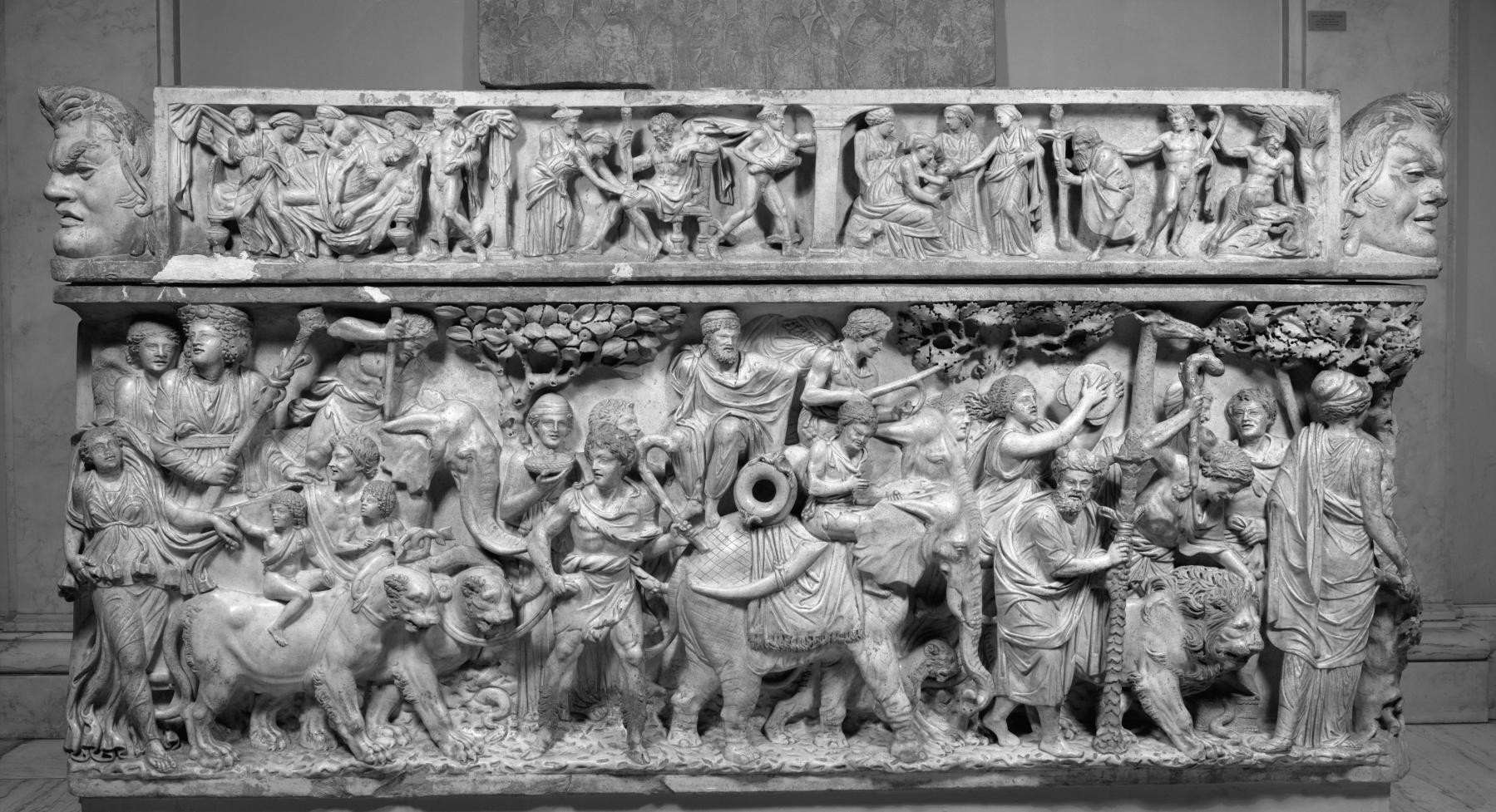 From Roman Sarcophagi Comes The Gospel of Bacchus